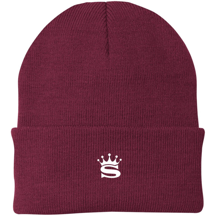 Still Champs Emroidered Maroon Beanie