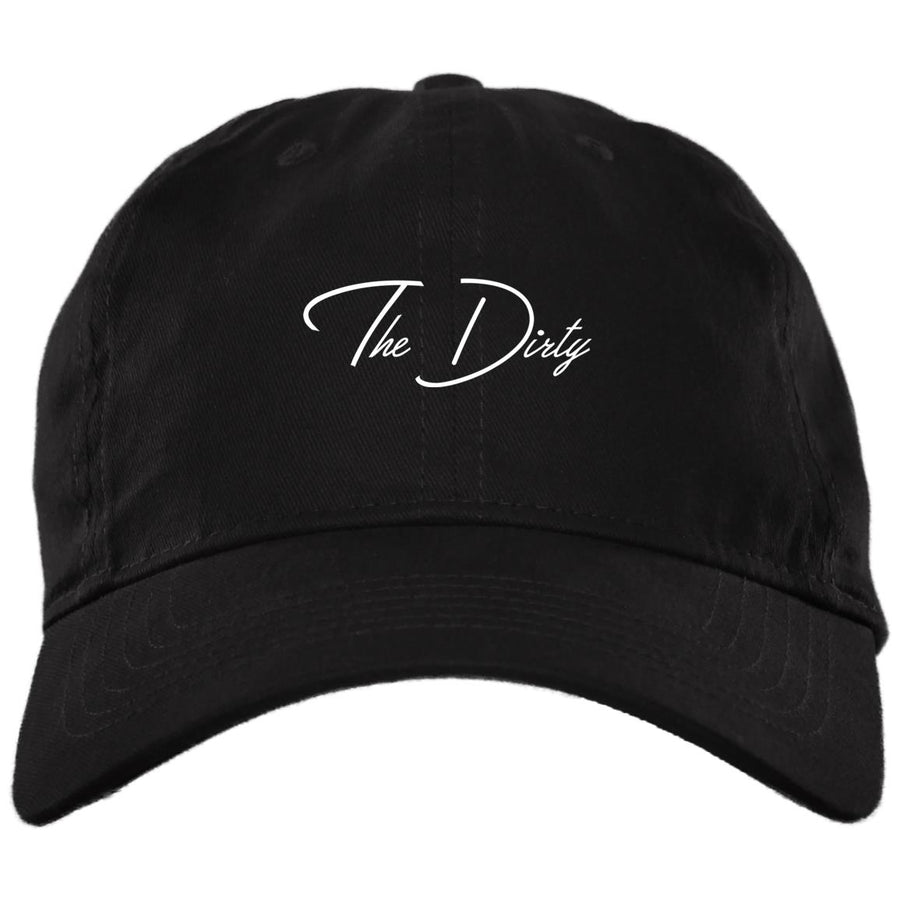 Black The Dirty Dad Cap