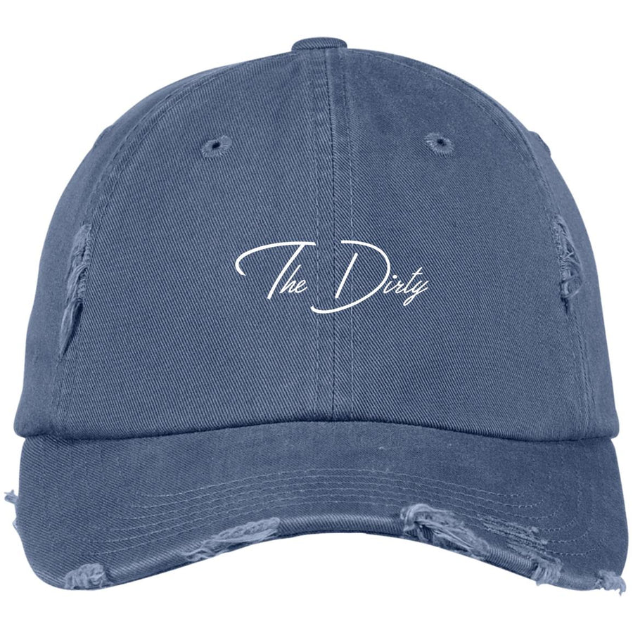 The Dirty Distressed Dad Hat