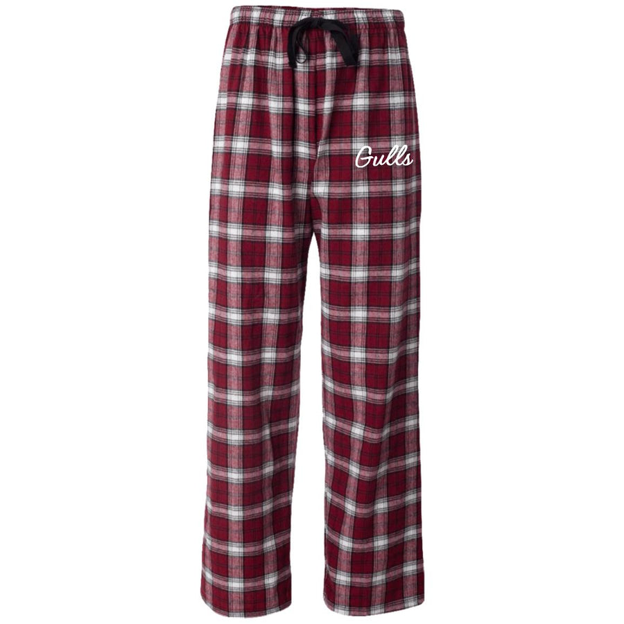 Gulls Embroidered Flannel PJ's