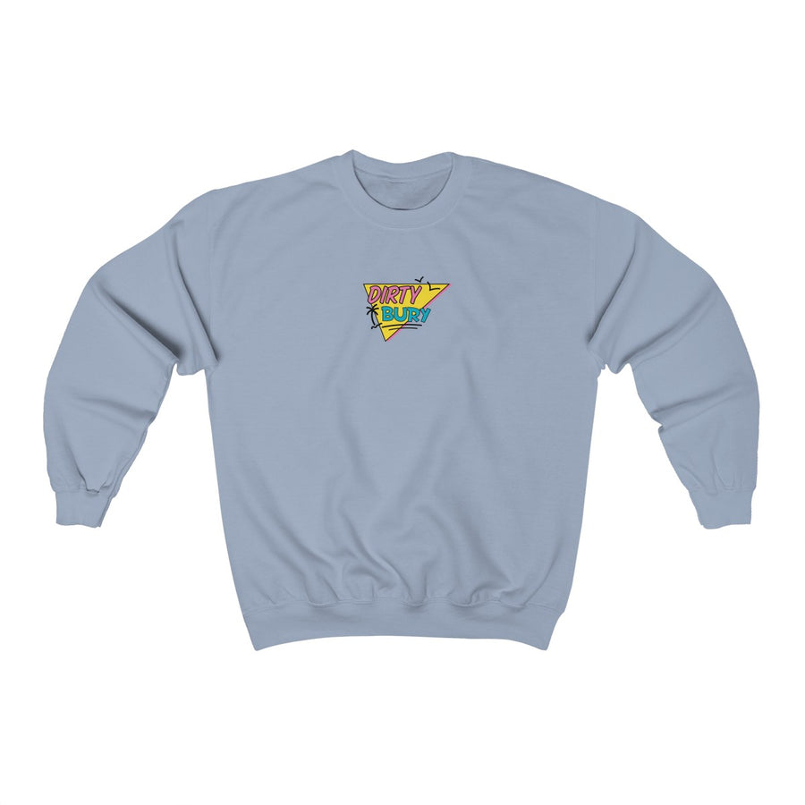 Faded Blue 90's Kids Crewneck
