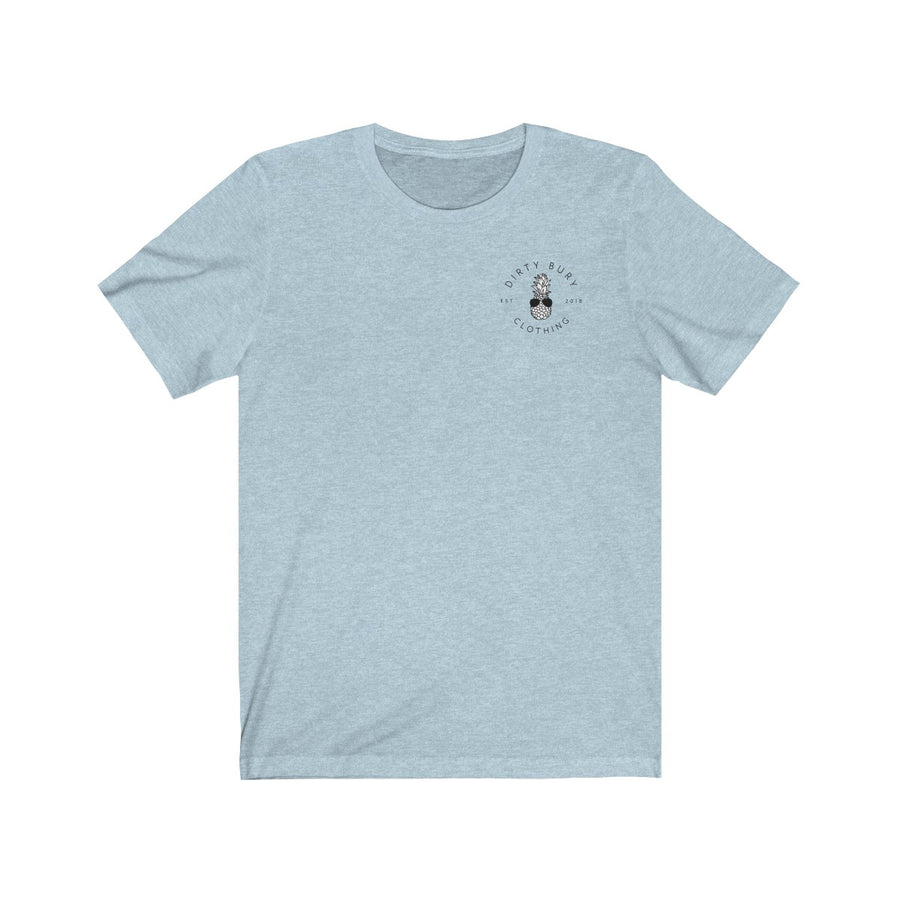 Heather Blue H8TRZ Tee