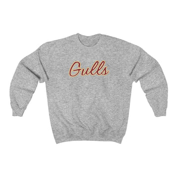 Gulls Crewneck Sweatshirt (Sports Grey)