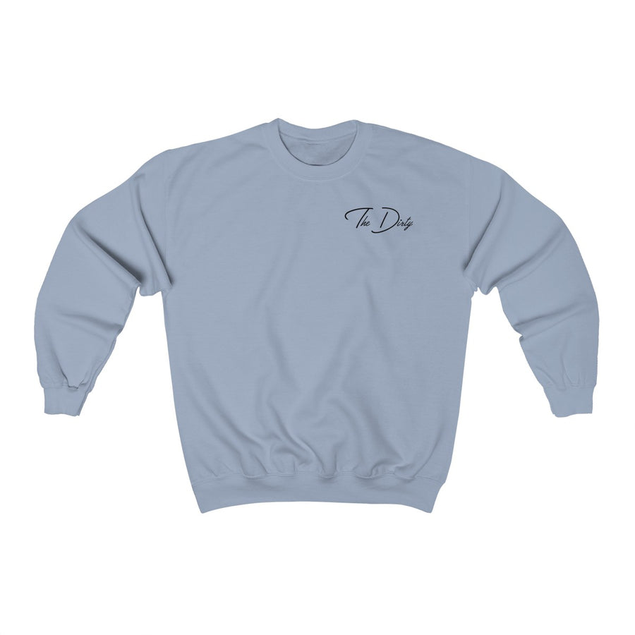 Light Blue Bottle That Up Crewneck