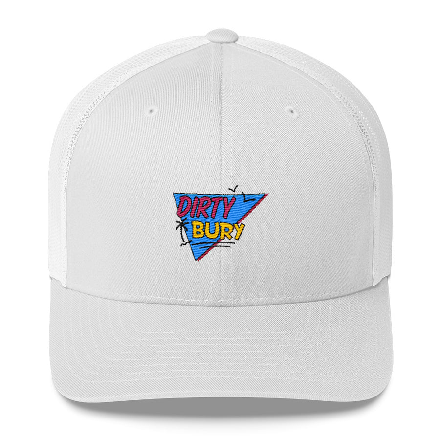 Embroidered 90's Kids Trucker Cap