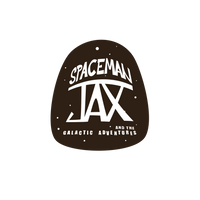 Spaceman Jax and the Galactic Adventures logo - Curio & Co.