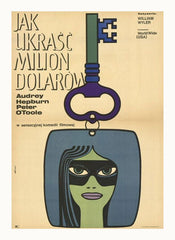 Curio & Co. reviews the classic 1960s film with Audrey Hepburn and peter O'Toole. Czech Movie Poster of How to Steal a Million. Curio and Co. www.curioandco.com