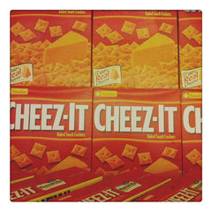 Curio & Co. looks at kids' favorite snacks. Photo of Cheez-it boxes. Curio and Co. www.curioandco.com