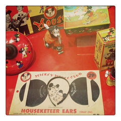 Curio & Co. looks at vintage Mickey Mouse Club Memorabilia. Curio and co. www.curioandco.com