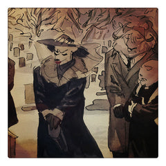 Curio & Co. looks at award winning comic book series Blacksad. Curio and co. www.curioandco.com
