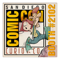 Curio & Co. heads to the world's best comics convention: Comic-Con International, in San Diego. Curio and co. www.curioandco.com