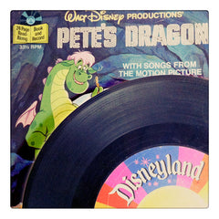 Curio & Co. looks at classic Disneyland Records from the 1980s, like the Book and Record for the Pete's Dragon film. Curio and Co. www.curioandco.com