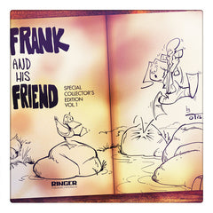 Curio & Co. considers daily worries through looking at classic newspaper comic Frank and His Friend. Curio and Co. www.curioandco.com