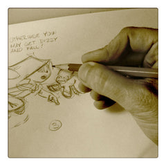 Curio & Co. looks at ways that classic cartoonist 'Otis' Dooley gave back to his fans. Curio and Co. www.curioandco.com