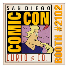 Curio & Co. heads to the leading comics convention and entertainment trade show, San Diego Comic-Con International. Image from Curio and Co. www.curioandco.com