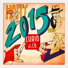 Curio & Co. looks back on 2014. Image courtesy of Curio and Co. www.curioandco.com