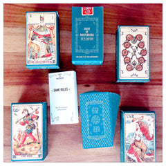 Curio & Co. looks at how to make packaging work. Image of package design for Musterberg Deck of Tarot Cards, courtesy of Curio and Co. www.curioandco.com