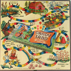 Curio & Co. plays classic board game Candy Land