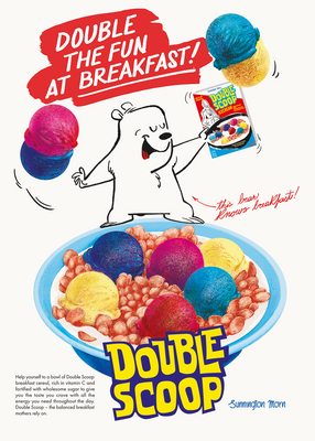 Double Scoop Double the fun at Breakfast