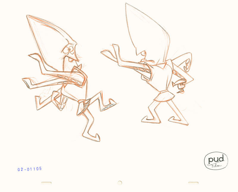 Jim Dewicky - production drawing - Mantagon sketch