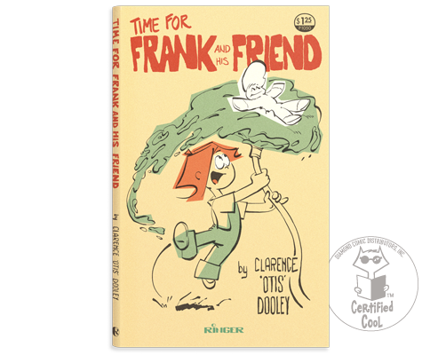 Book cover - 1979 Ringer Publishing Paperbacks - Frank held up by the kid hosing water under him - comic strip