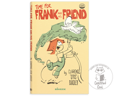 Frank and his Friend - Time for Frank and His Friend - Book cover - 1979 Ringer Publishing Paperbacks - Frank held up by the kid hosing water under him - comic strip - by Curio & Co. (Curio and Co. OG) www.curioandco.com
