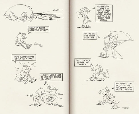 1979 Ringer Publishing Paperbacks -  sample page spread - comic strip