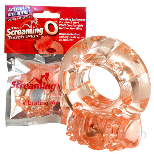 Screaming O Touch Plus Vibrating Cock Ring
