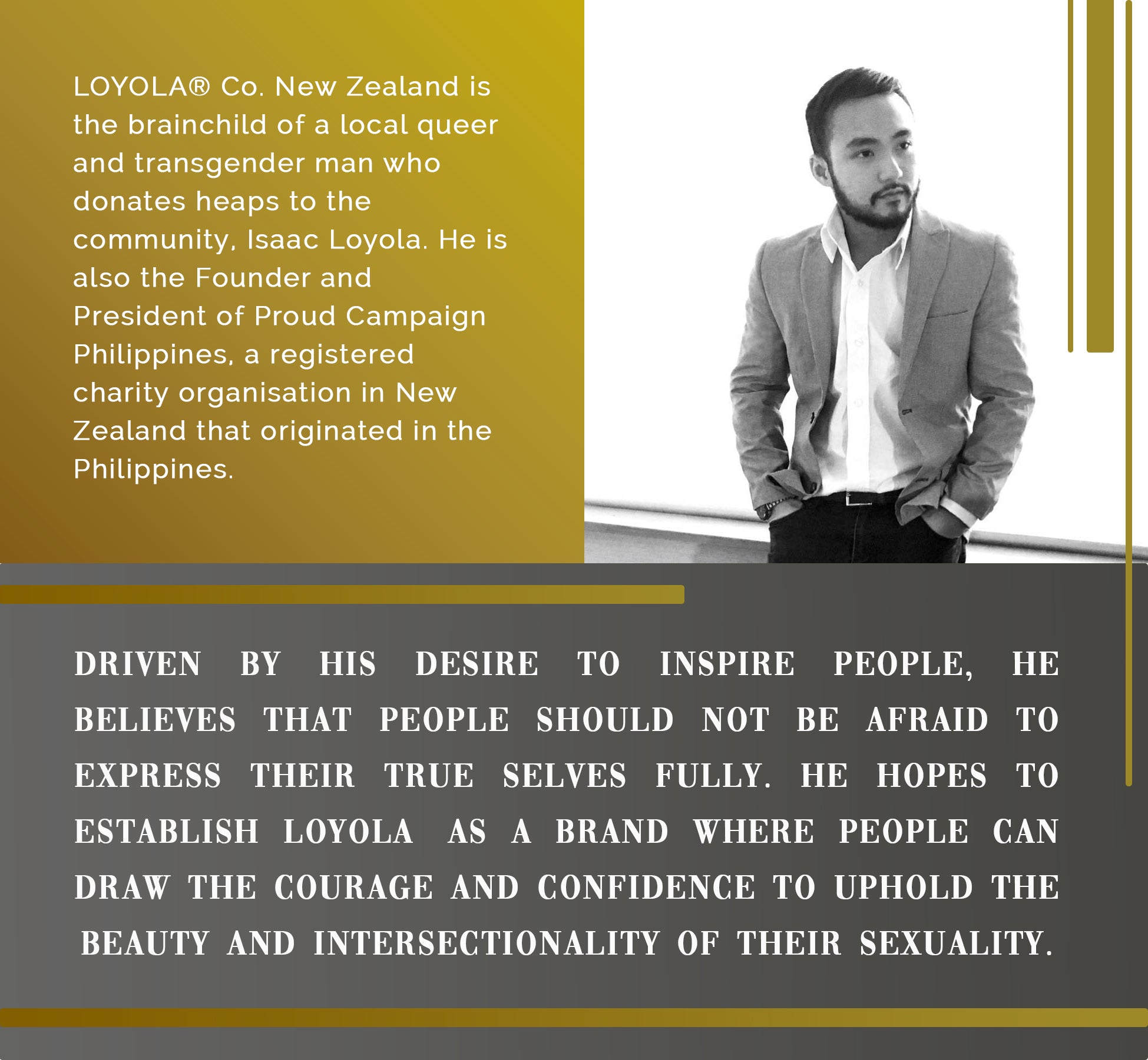 Isaac Loyola | Owner and Creative Director