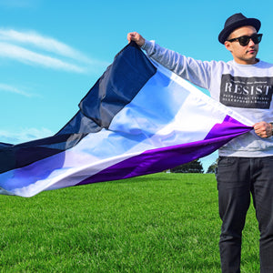 Big Flag | Asexual (Ace)