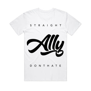T-shirt | Straight Don't Hate (White)