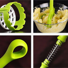 Load image into Gallery viewer, Pratical Plastic Potato Masher Garlic Ricer Crusher Kitchen Accessories