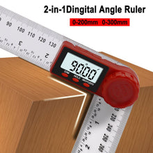 Load image into Gallery viewer, Digital Angle Ruler Inclinometer Goniometer Protractor Angle Finder