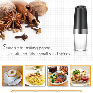 Electric Gravity Pepper Grinder