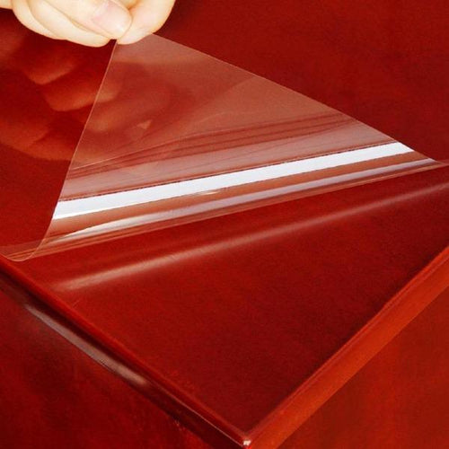 Self-adhesive 2mil Transparent Glossy Table Protection Film Furniture Stickers