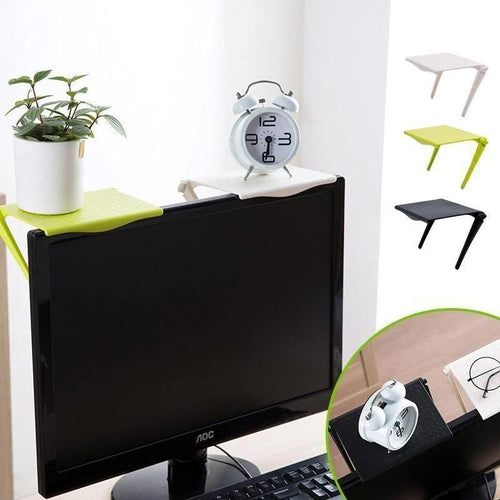 2PCS Multi-functional Computer Screen Storage Shelf