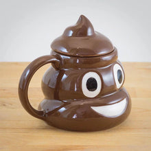 Load image into Gallery viewer, Creative Funny Ceramics Emoji Poop Mug