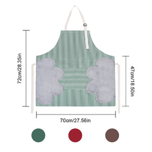 Cooking Oil-proof Hand Wiping Oxford Cloth Apron