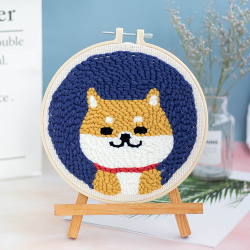 DIY Punch Needle Embroidery Kit-Cute Dog