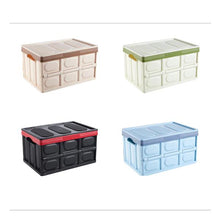 Load image into Gallery viewer, 30/56L Foldable Office Home Multifunctional Car Storage Box