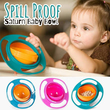 Load image into Gallery viewer, Spill Proof Saturn Baby Bowl