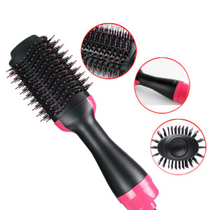 Two-in-one Multifunctional Negative Ion Hair Dryer Brush