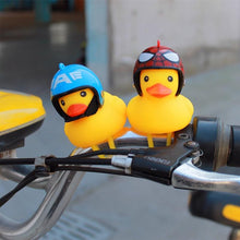 Load image into Gallery viewer, Cute Bicycle Small Yellow Duck with Helmet