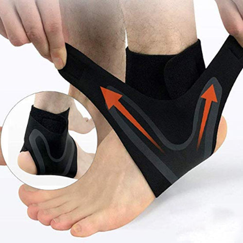 Sports Fitness Anti-sprain Ankle Socks