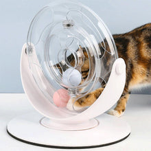 Load image into Gallery viewer, Plastics Turntable with Ball Funny Puzzle Cat Toy