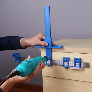 Multifunctional Furniture Woodworking Punch Locator