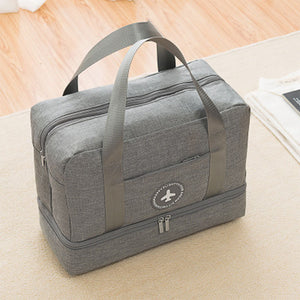 Dry-wet Separated Gym Bag