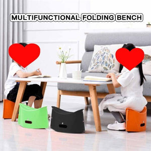 Outdoor Camping Portable Folding Small Bench Chair