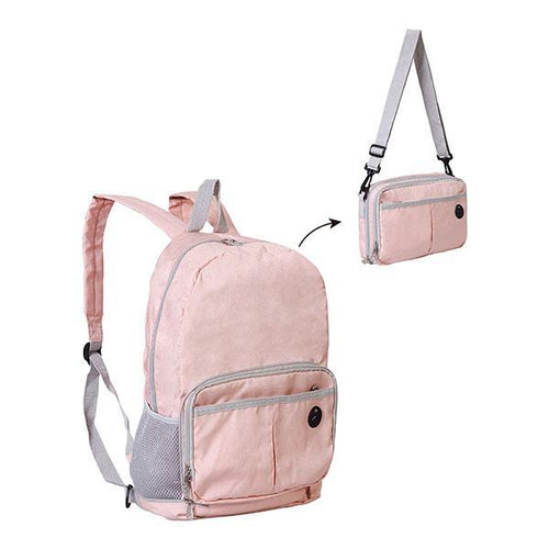 Fashion Zipper Women Backpack Shoulder Bag