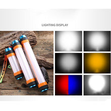 Load image into Gallery viewer, Multifunctional Tent Lamp Camping Rechargeable Led Outdoor Emergency Lighting Can Be Adsorbed Hanging